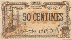 50 Centimes FRANCE régionalisme et divers GRANVILLE 1916 JP.060.07 SPL à NEUF