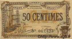 50 Centimes FRANCE régionalisme et divers Granville 1916 JP.060.07 TTB à SUP