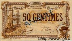 50 Centimes FRANCE régionalisme et divers Granville 1916 JP.060.08 TTB à SUP