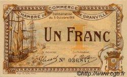 1 Franc FRANCE régionalisme et divers GRANVILLE 1916 JP.060.09 SPL à NEUF
