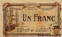 1 Franc FRANCE régionalisme et divers GRANVILLE 1916 JP.060.09 TB