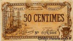 50 Centimes FRANCE régionalisme et divers Granville 1917 JP.060.11 TTB à SUP