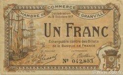 1 Franc FRANCE régionalisme et divers GRANVILLE 1917 JP.060.13 TB