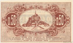 50 Centimes FRANCE régionalisme et divers Granville et Cherbourg 1920 JP.061.01 SPL à NEUF