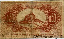 50 Centimes FRANCE régionalisme et divers GRANVILLE ET CHERBOURG 1920 JP.061.01 TB