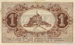 1 Franc FRANCE régionalisme et divers Granville et Cherbourg 1920 JP.061.03 SPL à NEUF