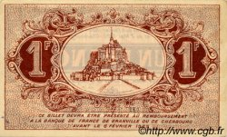 1 Franc FRANCE régionalisme et divers Granville et Cherbourg 1920 JP.061.03 TTB à SUP