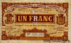 1 Franc FRANCE régionalisme et divers Granville et Cherbourg 1920 JP.061.03 TB