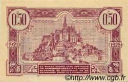 50 Centimes FRANCE régionalisme et divers GRANVILLE ET CHERBOURG 1921 JP.061.05 SPL à NEUF