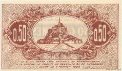 50 Centimes FRANCE régionalisme et divers GRANVILLE ET CHERBOURG 1921 JP.061.05 TTB à SUP