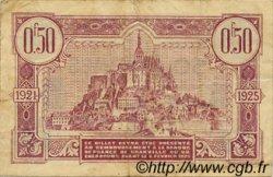 50 Centimes FRANCE régionalisme et divers GRANVILLE ET CHERBOURG 1921 JP.061.05 TB