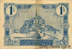 1 Franc FRANCE régionalisme et divers GRANVILLE ET CHERBOURG 1921 JP.061.08