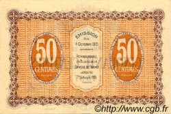 50 Centimes FRANCE régionalisme et divers GRAY ET VESOUL 1915 JP.062.01 TTB à SUP