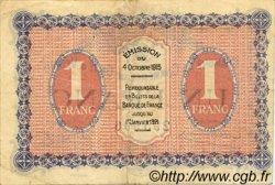 1 Franc FRANCE régionalisme et divers Gray et Vesoul 1915 JP.062.03 TTB à SUP