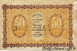 50 Centimes FRANCE régionalisme et divers GRAY ET VESOUL 1915 JP.062.07 TB
