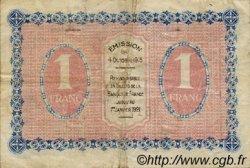 1 Franc FRANCE régionalisme et divers Gray et Vesoul 1915 JP.062.09 TB