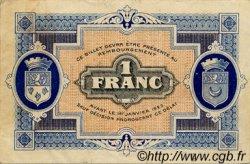 1 Franc FRANCE régionalisme et divers Gray et Vesoul 1919 JP.062.13 TTB à SUP