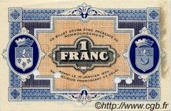 1 Franc FRANCE régionalisme et divers GRAY ET VESOUL 1919 JP.062.14 TTB à SUP