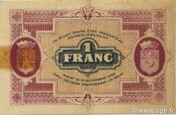 1 Franc FRANCE régionalisme et divers GRAY ET VESOUL 1920 JP.062.17 TB