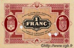 1 Franc FRANCE régionalisme et divers GRAY ET VESOUL 1920 JP.062.18 SPL à NEUF