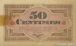 50 Centimes FRANCE régionalisme et divers Gray et Vesoul 1921 JP.062.19 TTB à SUP