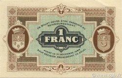 1 Franc FRANCE régionalisme et divers Gray et Vesoul 1921 JP.062.21 SPL à NEUF