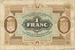 1 Franc FRANCE régionalisme et divers GRAY ET VESOUL 1921 JP.062.21 TB