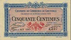 50 Centimes FRANCE régionalisme et divers GRENOBLE 1916 JP.063.05 SPL à NEUF