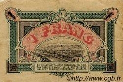 1 Franc FRANCE régionalisme et divers GRENOBLE 1916 JP.063.06 TB