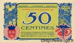 50 Centimes FRANCE régionalisme et divers Grenoble 1917 JP.063.10 SPL à NEUF