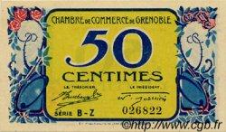 50 Centimes FRANCE régionalisme et divers Grenoble 1917 JP.063.11 SPL à NEUF