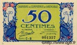 50 Centimes FRANCE régionalisme et divers Grenoble 1917 JP.063.12 SPL à NEUF