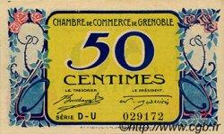 50 Centimes FRANCE régionalisme et divers Grenoble 1917 JP.063.13 SPL à NEUF