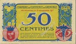 50 Centimes FRANCE régionalisme et divers GRENOBLE 1917 JP.063.14 SPL à NEUF