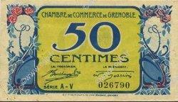 50 Centimes FRANCE régionalisme et divers GRENOBLE 1917 JP.063.22 SPL à NEUF
