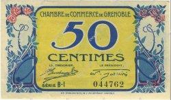 50 Centimes FRANCE régionalisme et divers GRENOBLE 1917 JP.063.23 SPL à NEUF