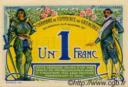 1 Franc FRANCE régionalisme et divers GRENOBLE 1917 JP.063.25 SPL à NEUF