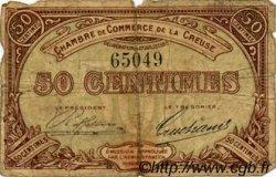 50 Centimes FRANCE régionalisme et divers Guéret 1915 JP.064.01 TB