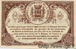 50 Centimes FRANCE régionalisme et divers GUÉRET 1915 JP.064.02 SPL à NEUF