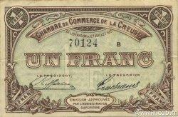 1 Franc FRANCE régionalisme et divers GUÉRET 1915 JP.064.03 TTB à SUP