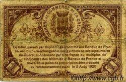 1 Franc FRANCE régionalisme et divers GUÉRET 1915 JP.064.03 TB