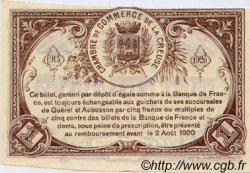 1 Franc FRANCE régionalisme et divers GUÉRET 1915 JP.064.04 SPL à NEUF
