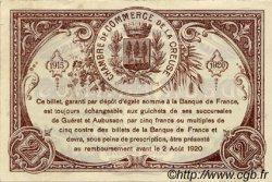2 Francs FRANCE régionalisme et divers GUÉRET 1915 JP.064.06 SPL à NEUF