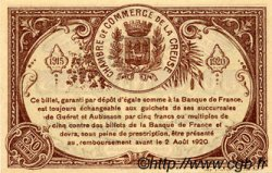 50 Centimes FRANCE régionalisme et divers Guéret 1915 JP.064.07 SPL à NEUF