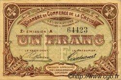 1 Franc FRANCE régionalisme et divers GUÉRET 1915 JP.064.09 TTB à SUP