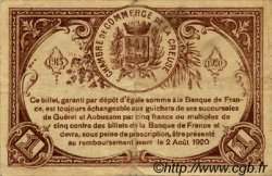 1 Franc FRANCE régionalisme et divers GUÉRET 1915 JP.064.09 TB