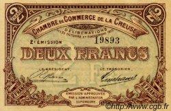 2 Francs FRANCE régionalisme et divers GUÉRET 1920 JP.064.11 SPL à NEUF