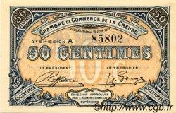 50 Centimes FRANCE régionalisme et divers GUÉRET 1917 JP.064.13 SPL à NEUF