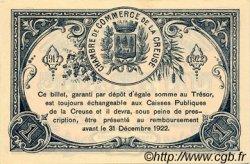 1 Franc FRANCE régionalisme et divers Guéret 1917 JP.064.14 SPL à NEUF
