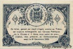 1 Franc FRANCE régionalisme et divers Guéret 1918 JP.064.17 SPL à NEUF